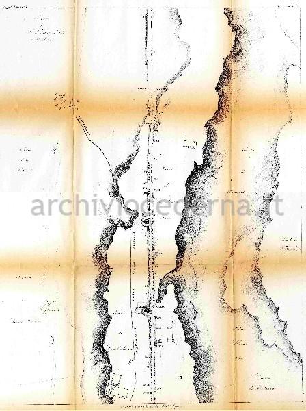 Tavola Quarta della Via Appia, in Tavole dei Monumenti dell'Instituto di Corrispondenza Archeologica, vol. V tav. XLVI, 1852
