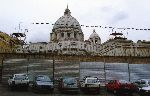 San Pietro: lavori per la sopraelevazione della casa di Santa Marta