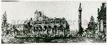 """Illustrazione num. 11: """"Basiliche Palladiane sul Foro Traiano, secondo i gusti di Ojetti (arch. Limongelli)"""""""