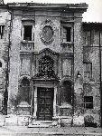 """""""Chiesa di S.Michele Arcangelo in Borgo S.Angelo"""". Facciata su Borgo S.Angelo"""
