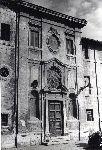 """""""Chiesa di S.Michele Arcangelo, facciata su Borgo S.Angelo"""""""